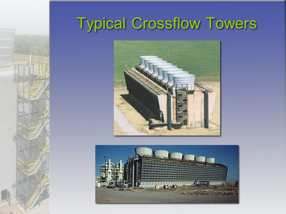 Typical Crossflow Towers