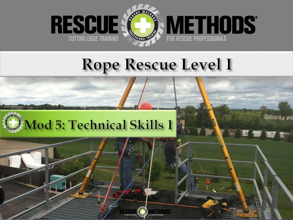 Mod 5: Technical Skills I