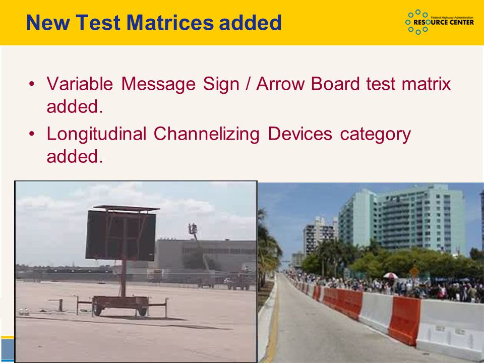 New Test Matrices added