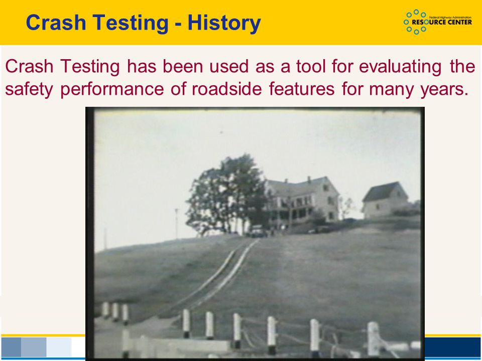 Crash Testing - History