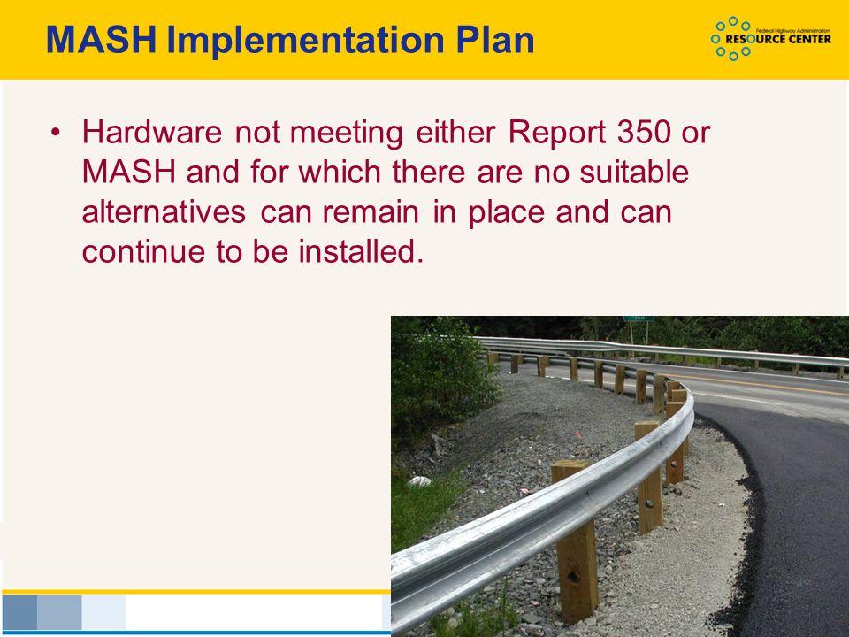 MASH Implementation Plan