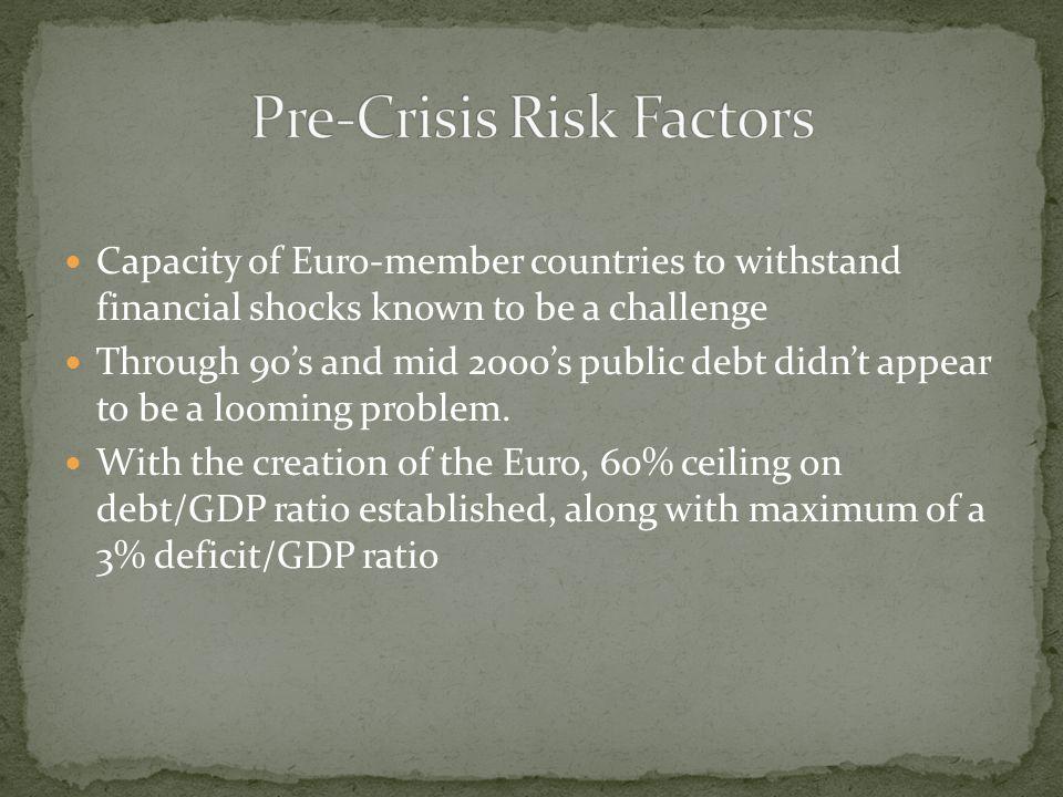 Pre-Crisis Risk Factors