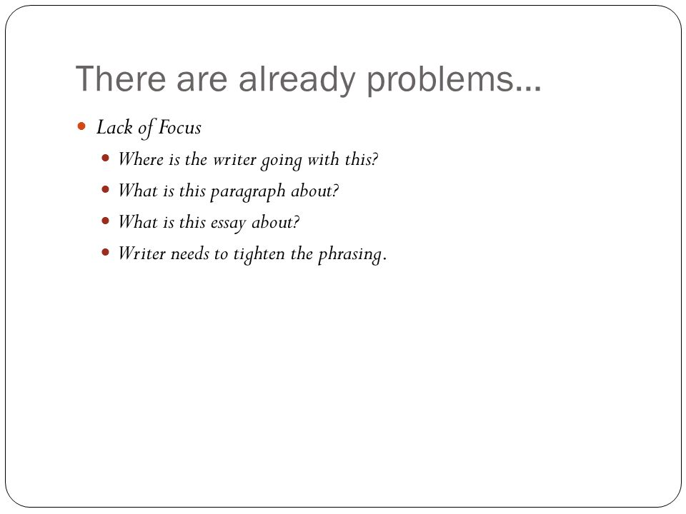the bad college essay ppt video online  3 there