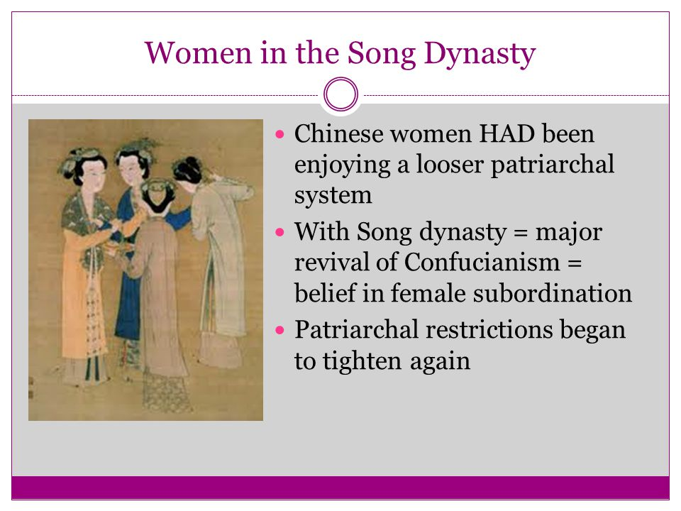 Women in the Song Dynasty