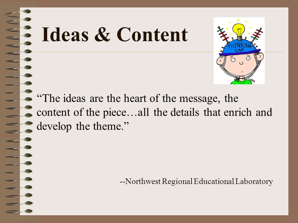 Ideas & Content --Northwest Regional Educational Laboratory