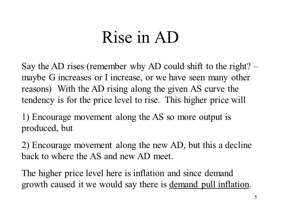 Rise in AD