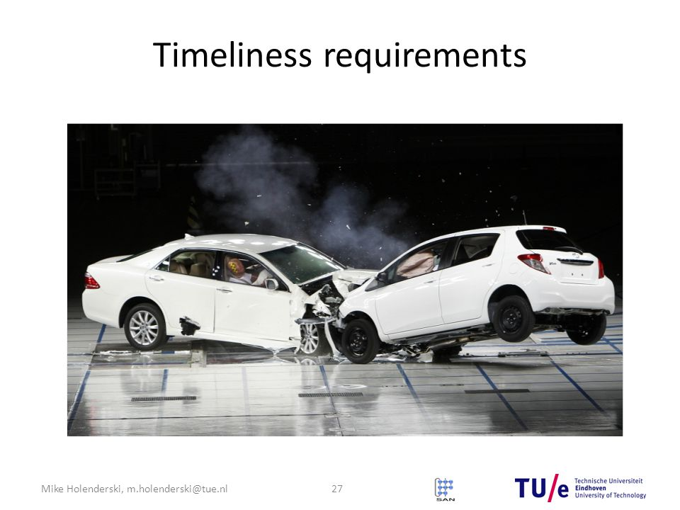 Timeliness requirements