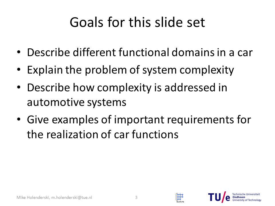 Goals for this slide set