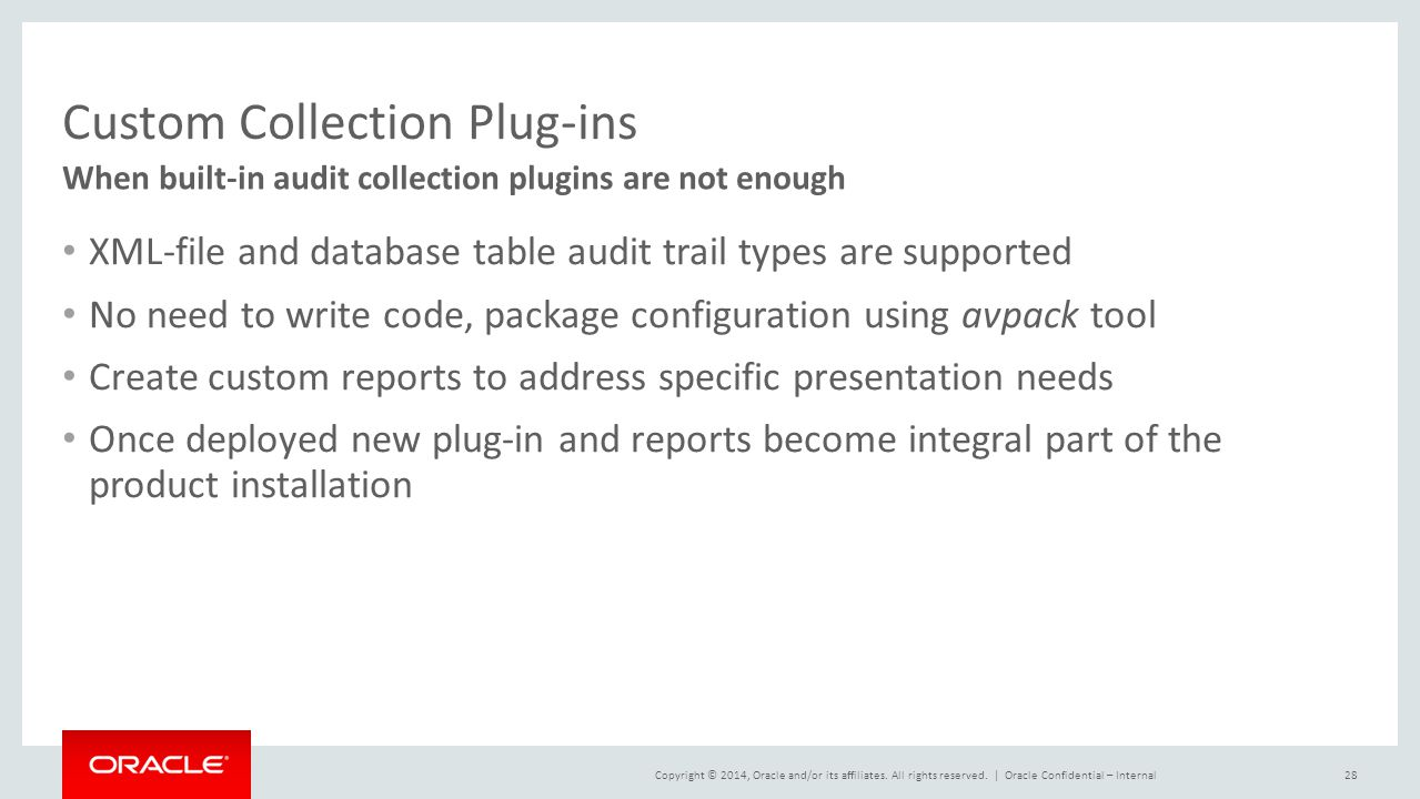 Custom Collection Plug-ins