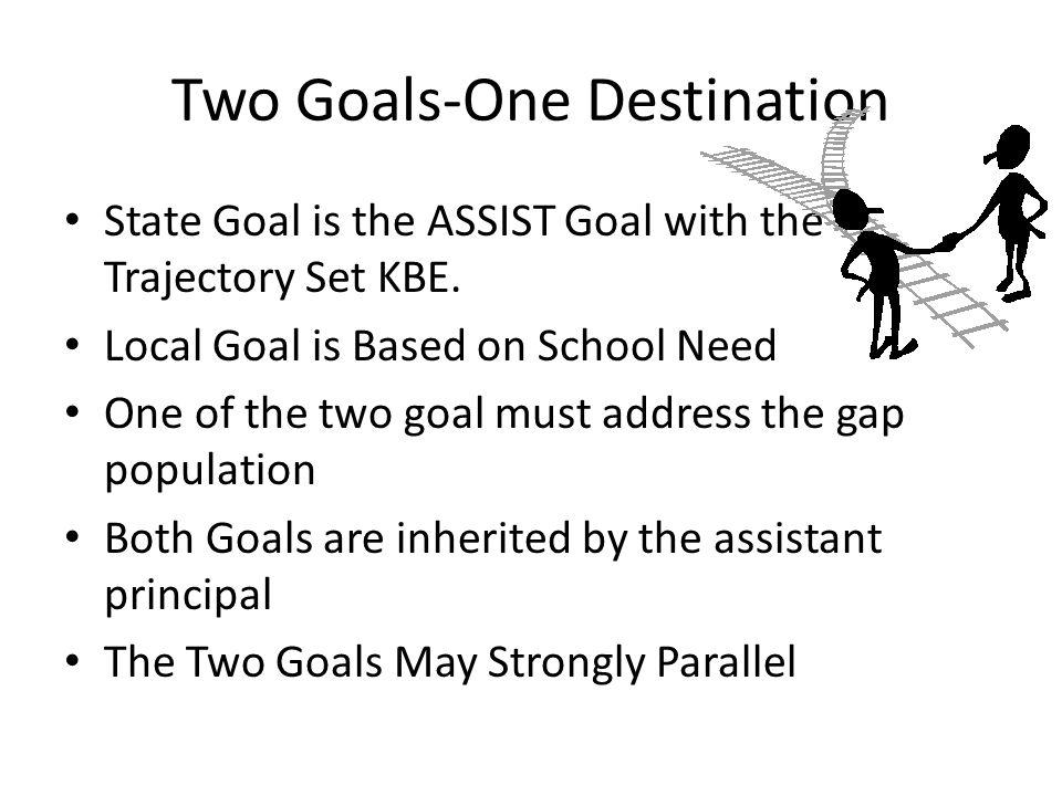 Two Goals-One Destination