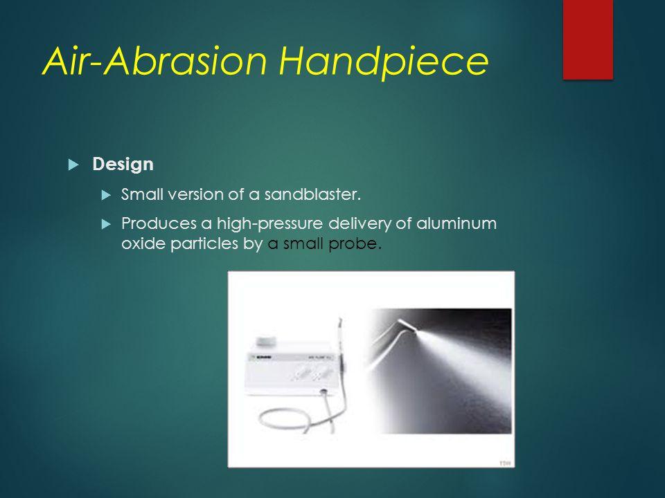 Air-Abrasion Handpiece