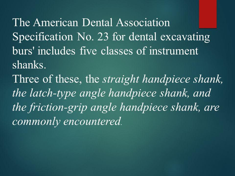 The American Dental Association