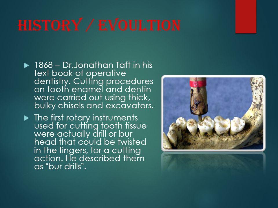 HISTORY / EVOULTION