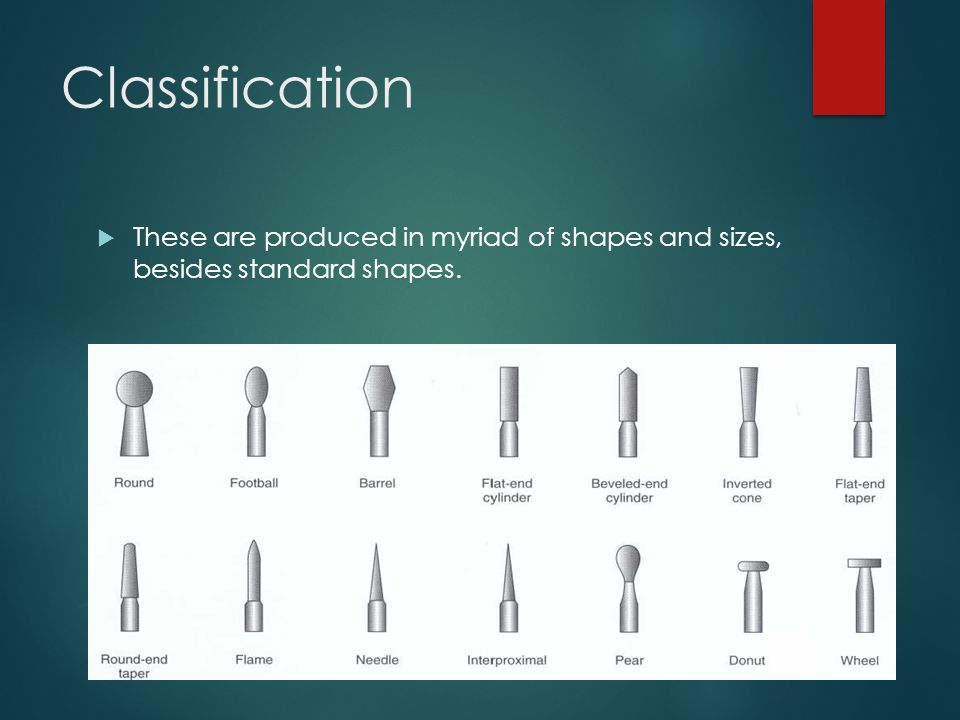 Classification These are produced in myriad of shapes and sizes, besides standard shapes.