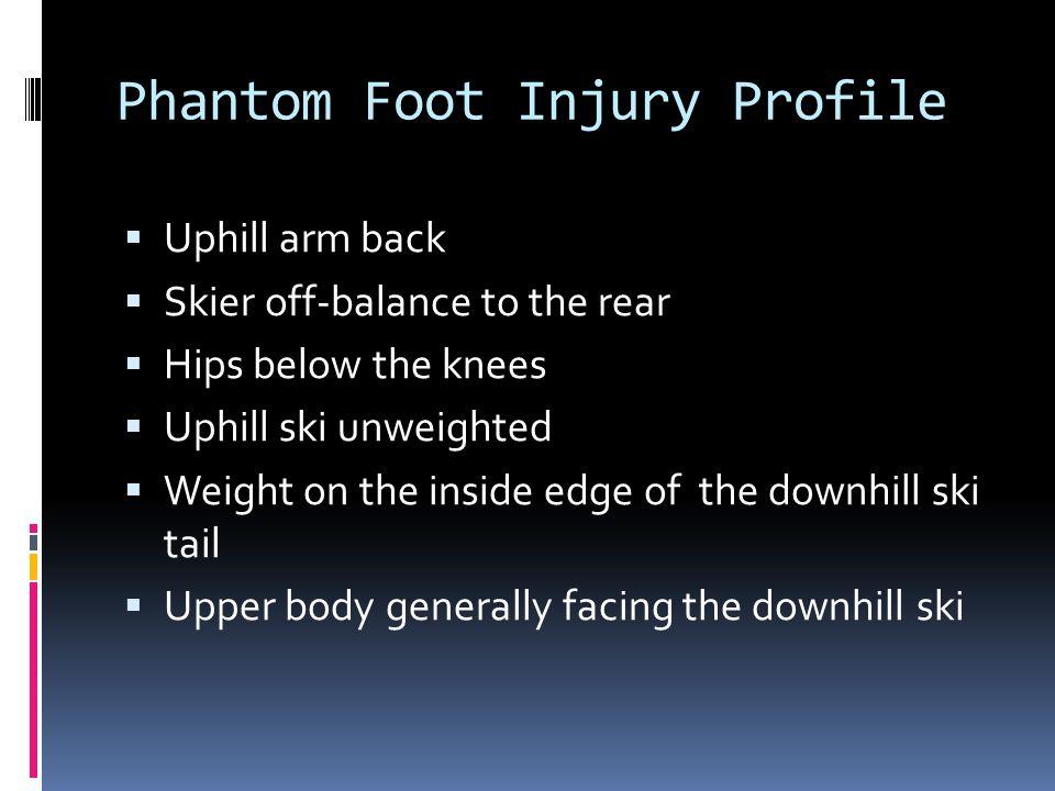 Phantom Foot Injury Profile