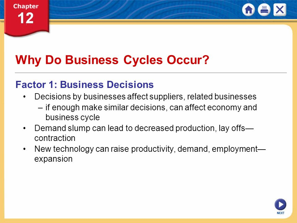 Why Do Business Cycles Occur