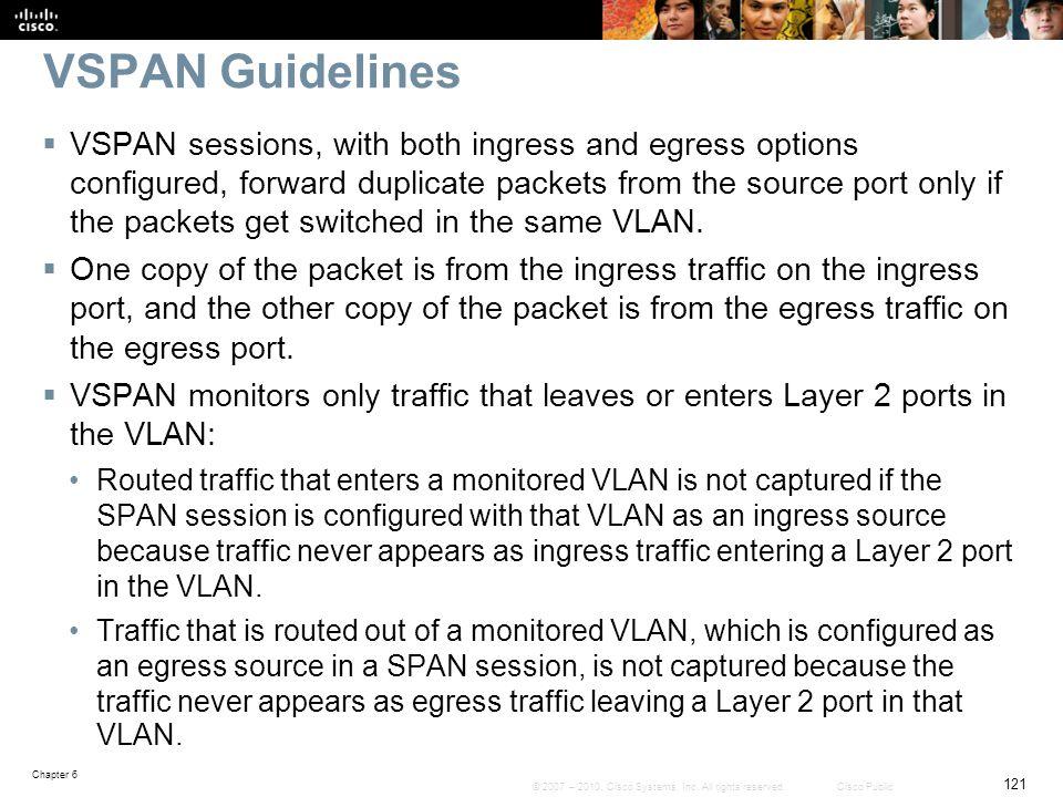 VSPAN Guidelines