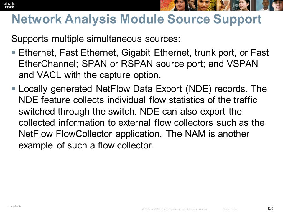 Network Analysis Module Source Support
