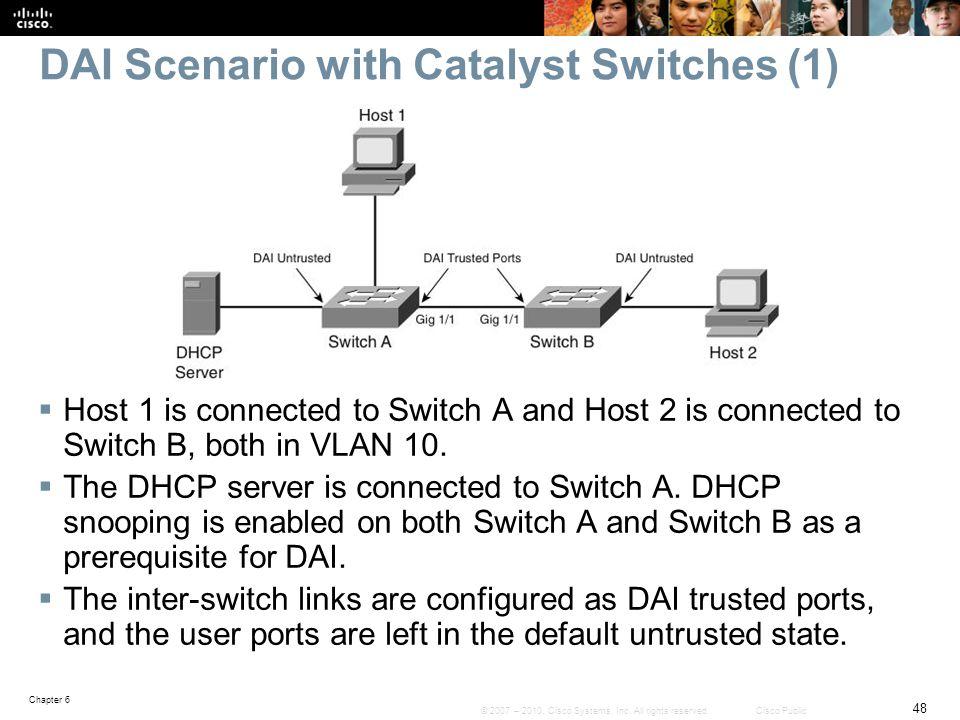 DAI Scenario with Catalyst Switches (1)