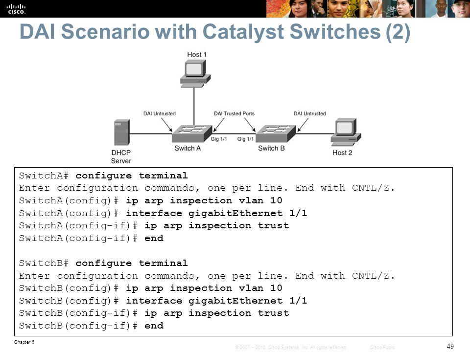 DAI Scenario with Catalyst Switches (2)