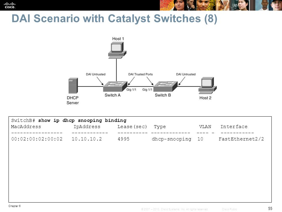 DAI Scenario with Catalyst Switches (8)