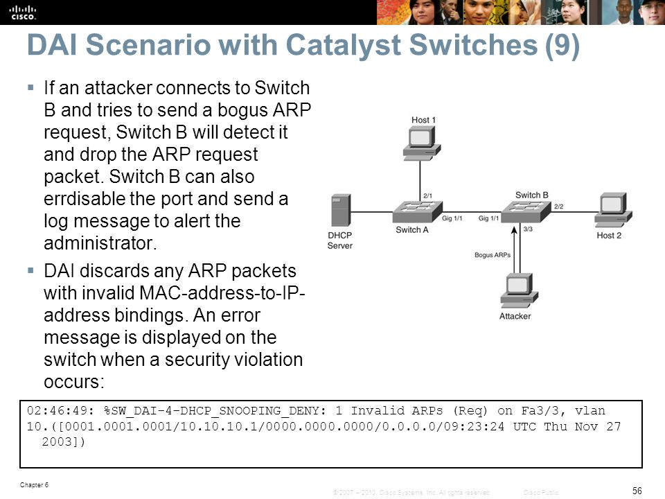 DAI Scenario with Catalyst Switches (9)