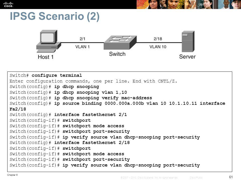IPSG Scenario (2)