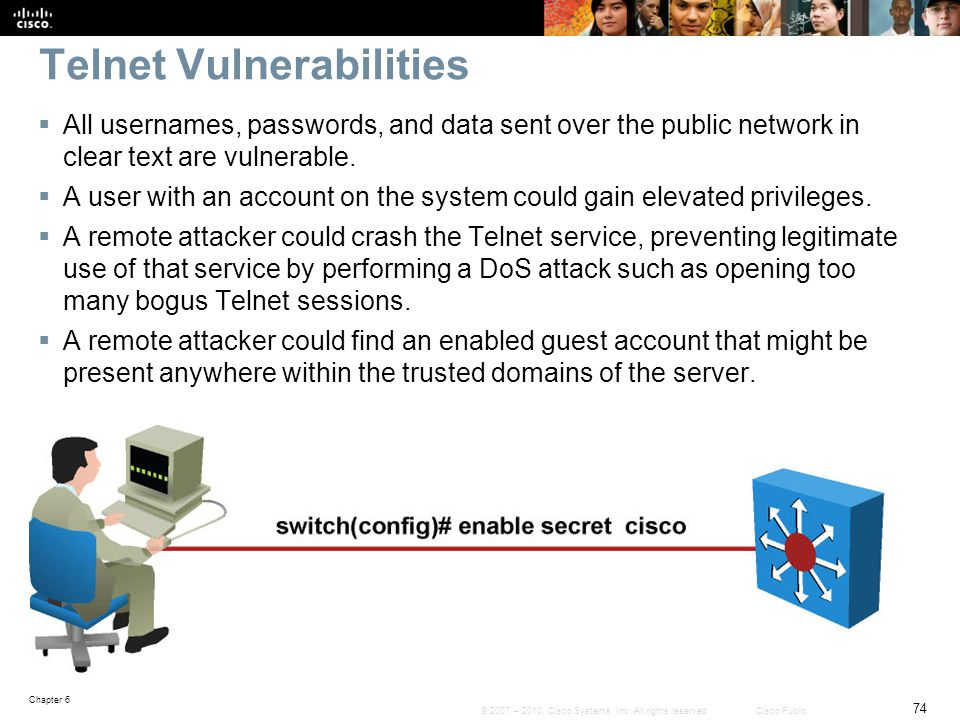 Telnet Vulnerabilities