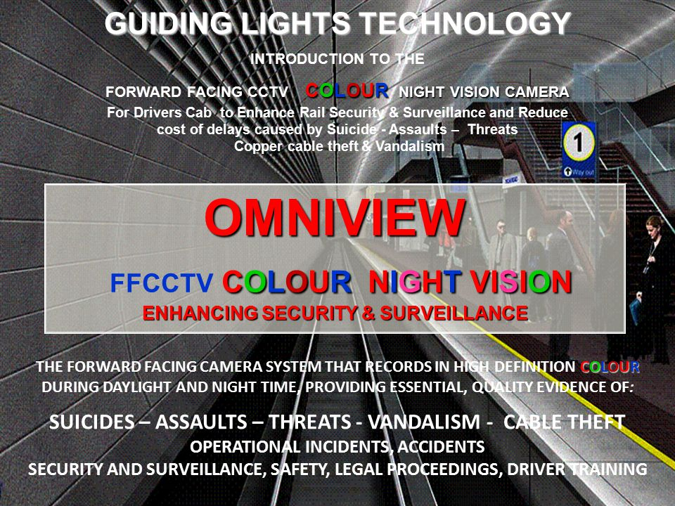 OMNIVIEW FFCCTV COLOUR NIGHT VISION ENHANCING SECURITY & SURVEILLANCE