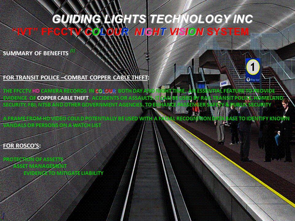 GUIDING LIGHTS TECHNOLOGY INC