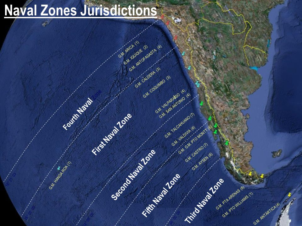 Naval Zones Jurisdictions