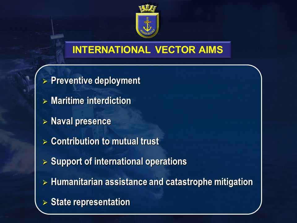 INTERNATIONAL VECTOR AIMS