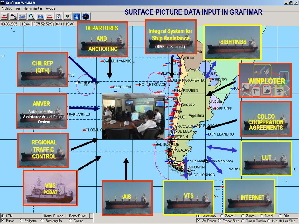 SURFACE PICTURE DATA INPUT IN GRAFIMAR WINPLOTER