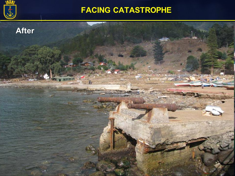 FACING CATASTROPHE After Before