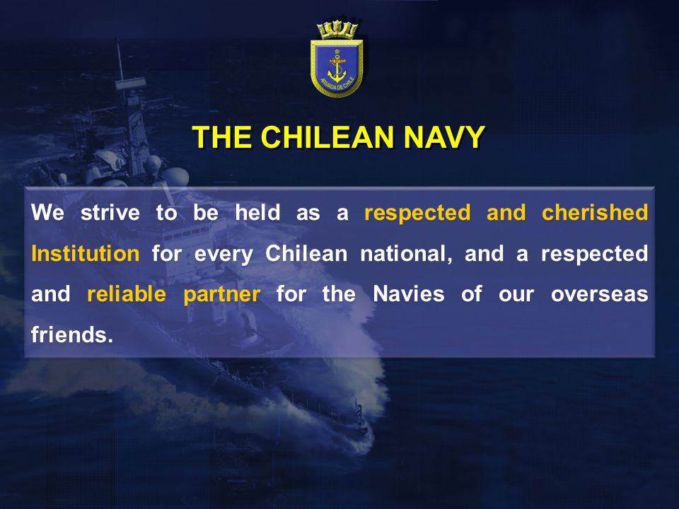 THE CHILEAN NAVY