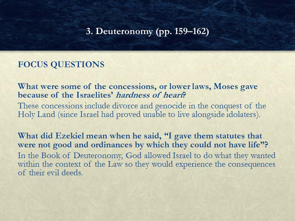 3. Deuteronomy (pp. 159–162)