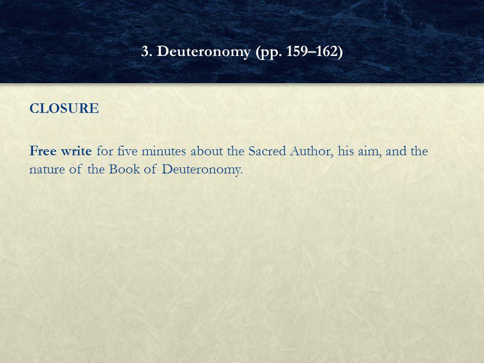 3. Deuteronomy (pp.