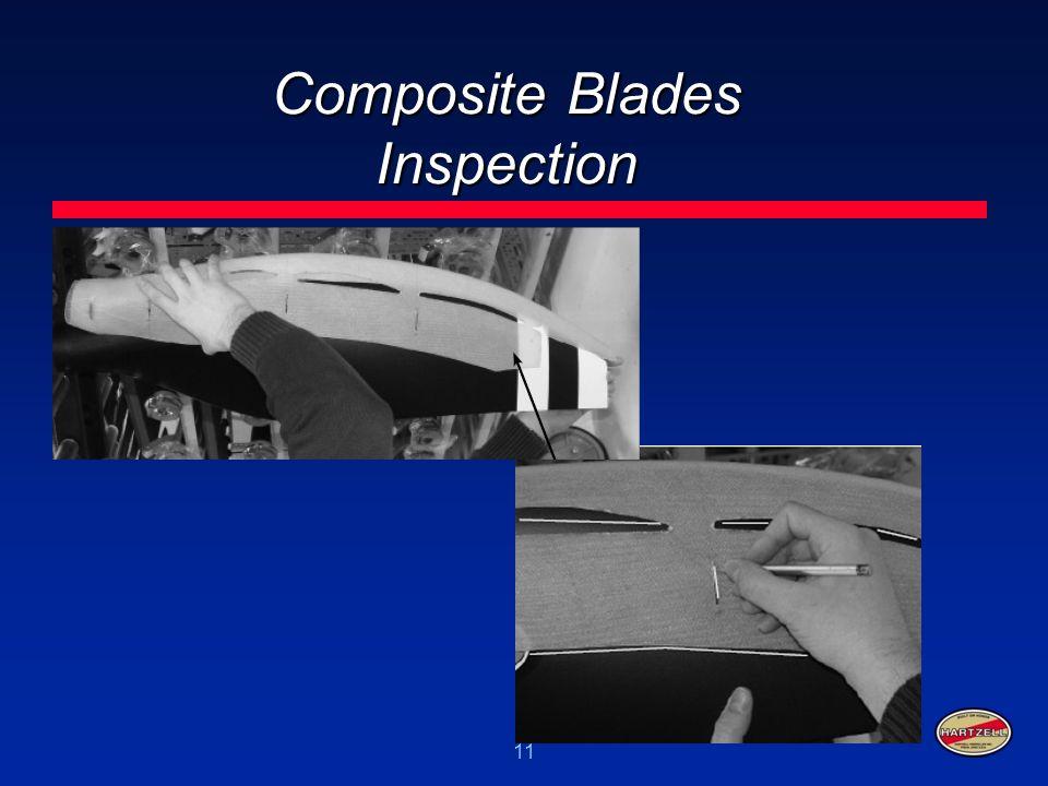 Composite Blades Inspection