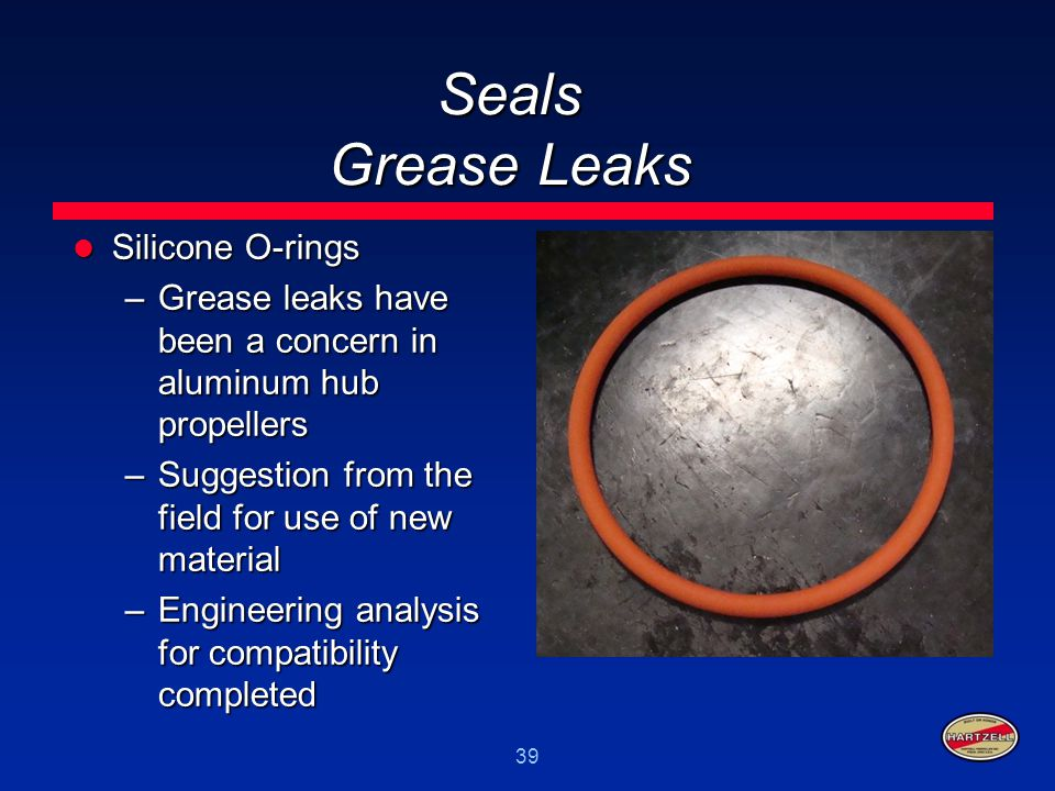Seals Grease Leaks Silicone O-rings