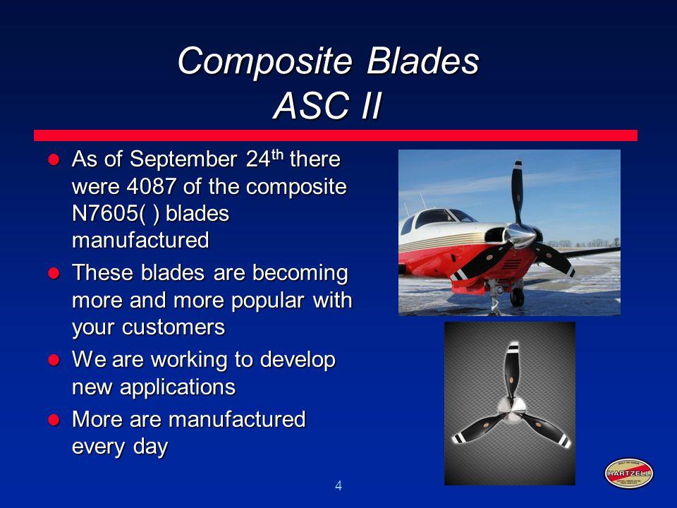 Composite Blades ASC II