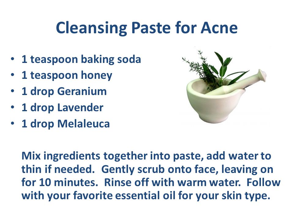 Cleansing Paste for Acne