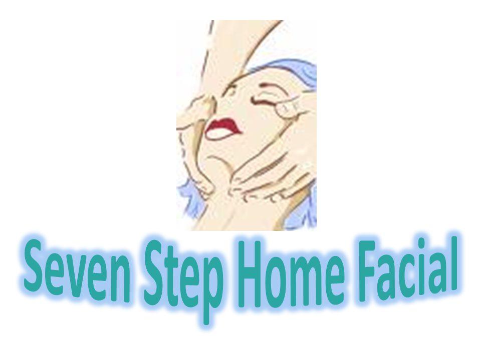Seven Step Home Facial