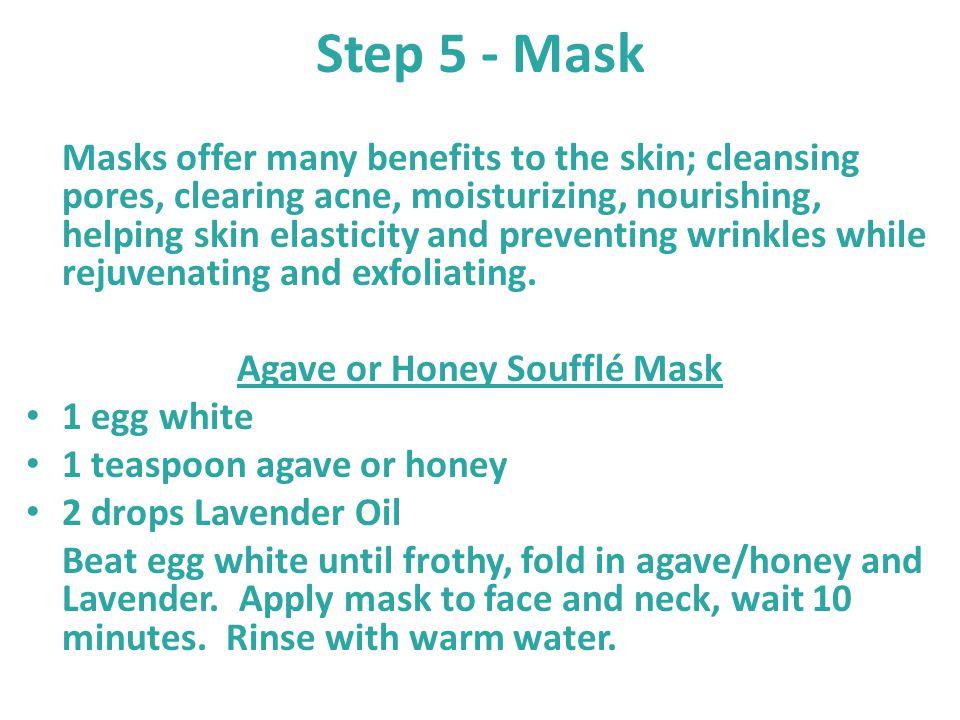 Agave or Honey Soufflé Mask