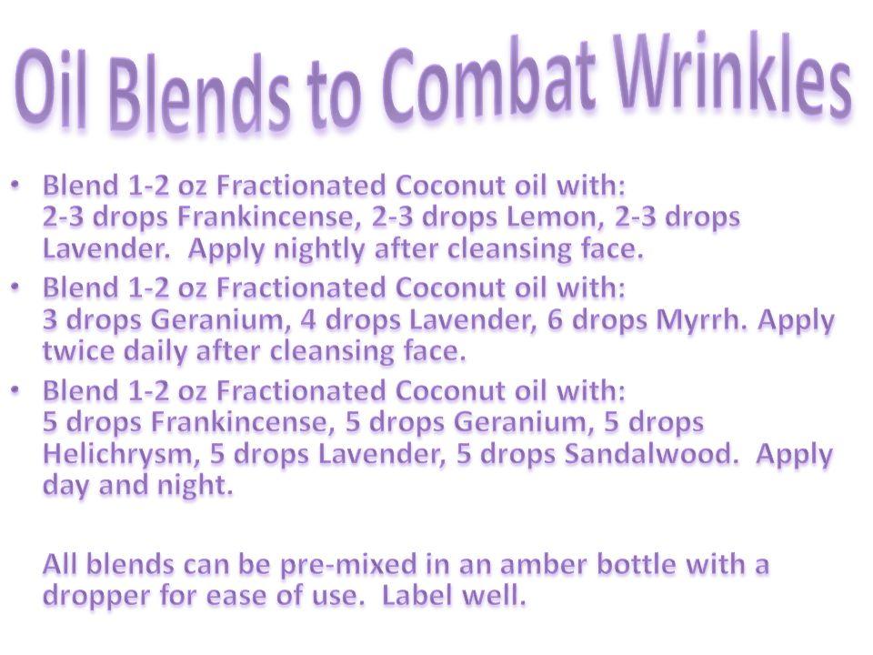Oil Blends to Combat Wrinkles