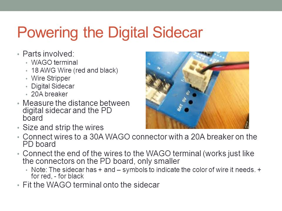Powering the Digital Sidecar