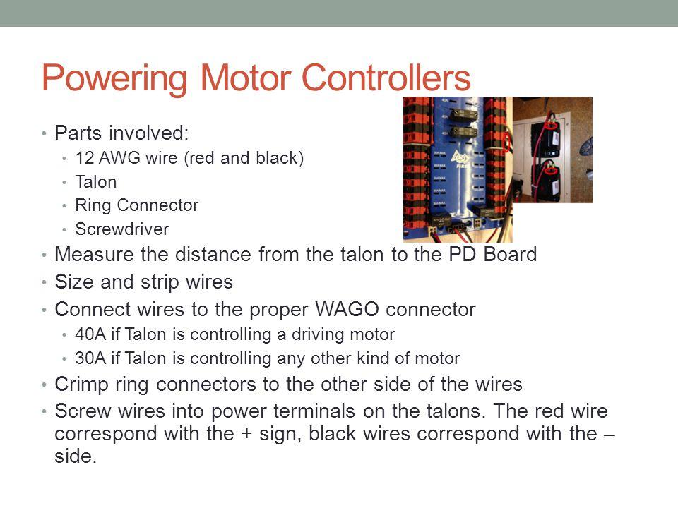 Powering Motor Controllers