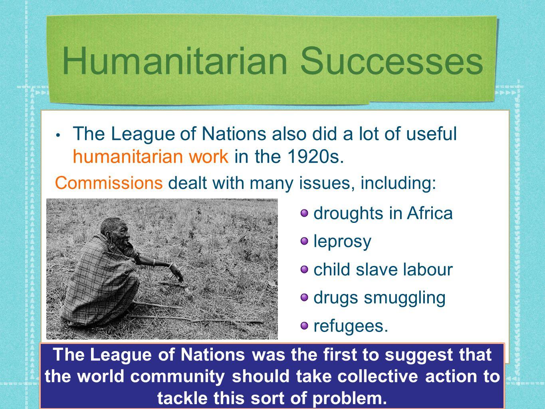 Humanitarian Successes