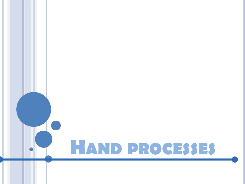 Hand processes