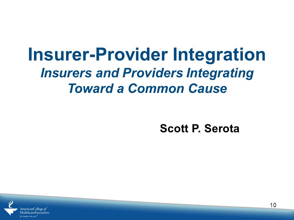 Insurer-Provider Integration