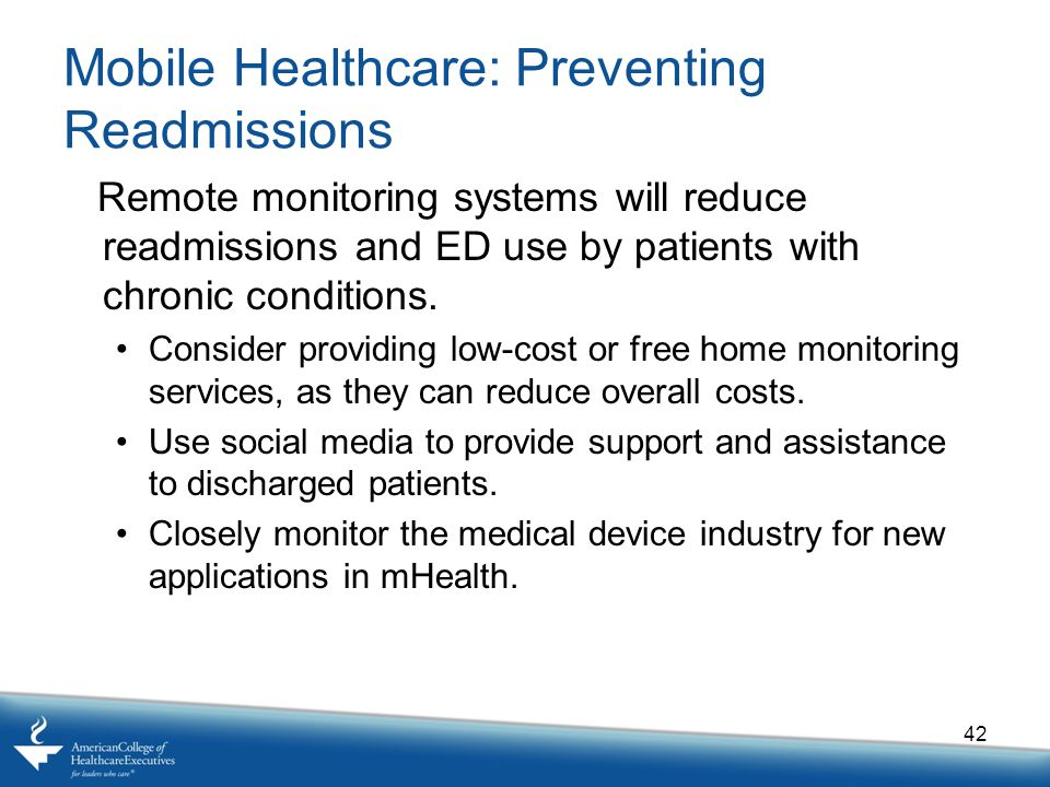 Mobile Healthcare: Preventing Readmissions
